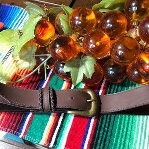 Vintage Vegan Belt